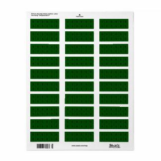 Money Sign on Green Extra small sticker Return Address Label
