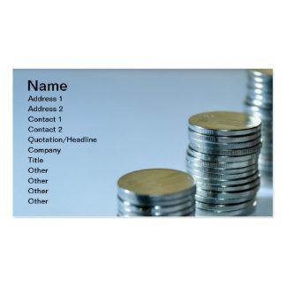 MONEY STOCK INTEREST BANKS BANKING RETURNS FINANCE BUSINESS CARD TEMPLATE