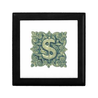 Money Symbol Ornament Gift Box