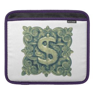 Money Symbol Ornament iPad Sleeve