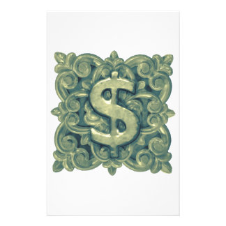 Money Symbol Ornament Stationery