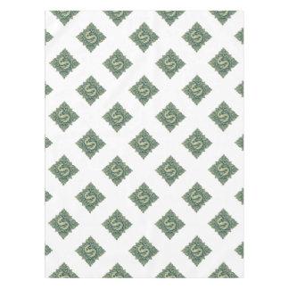 Money Symbol Ornament Tablecloth