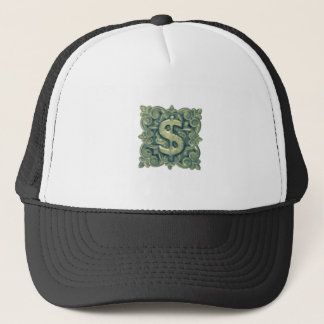 Money Symbol Ornament Trucker Hat