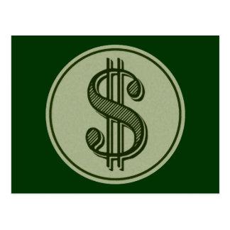 Money Talks Post Card