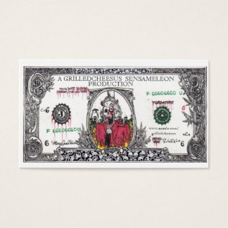 Money The Root of All Evil Business Card