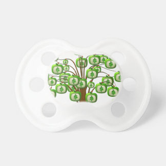 money tree baby pacifiers