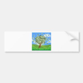 Money Tree Concept Bumper Sticker