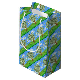 Money Tree Concept Small Gift Bag