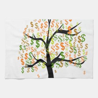 Money Tree Towels