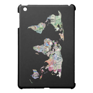 money world map finance country symbol business cu cover for the iPad mini