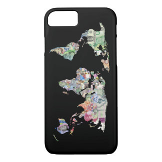 money world map finance country symbol business cu iPhone 8/7 case
