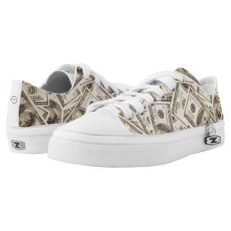 Money Zipper Shoes