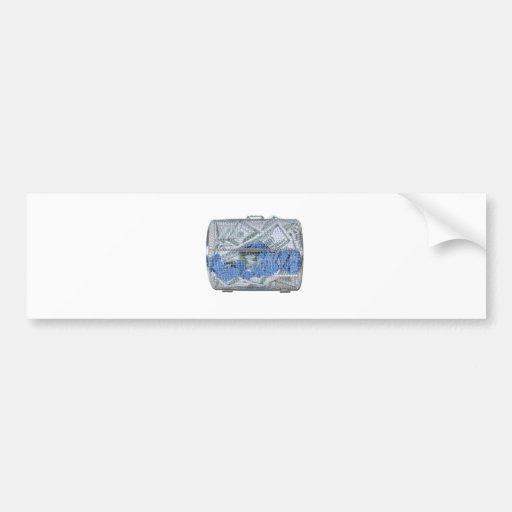 MoneyRaffleTicketsSpinnerCage082612.png Bumper Sticker