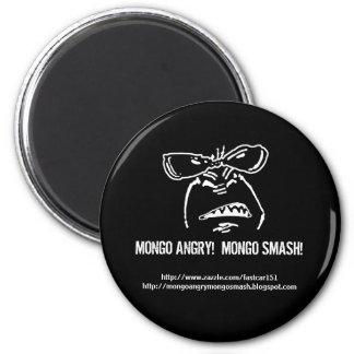 Mongo Angry!  Mongo Smash! Magnet