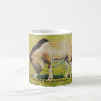 Mongol Horse #3- Young Stallion Coffee Mug