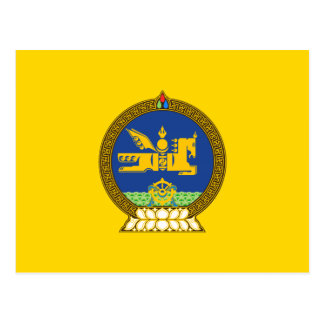 Mongol (Mongolian) emblem Postcard
