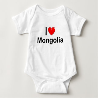 Mongolia Baby Bodysuit