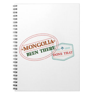 Mongolia Been There Done That Notebook