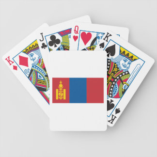Mongolia Bicycle Playing Cards