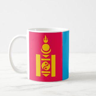 Mongolia country flag nation symbol coffee mug