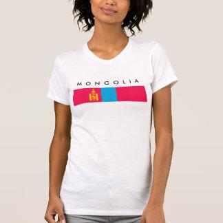 Mongolia country flag nation symbol T-Shirt