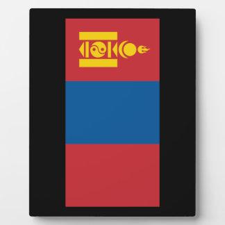 Mongolia Display Plaque