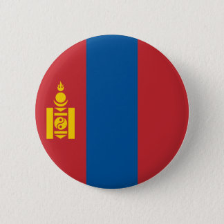 Mongolia Flag 2 Inch Round Button
