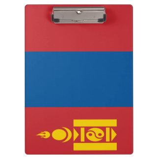 Mongolia Flag Clipboard
