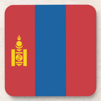 Mongolia Flag Drink Coaster
