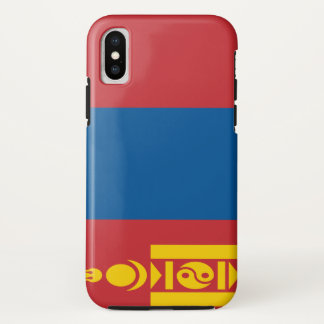 Mongolia Flag iPhone X Case