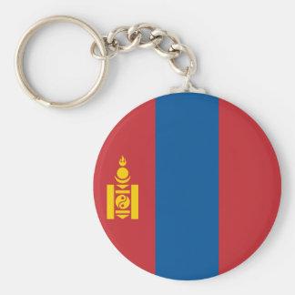 Mongolia Flag Keychain