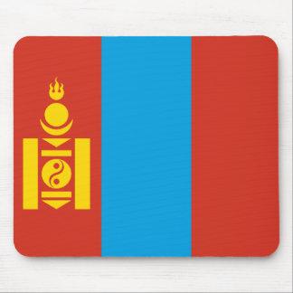 Mongolia Flag Mousepad