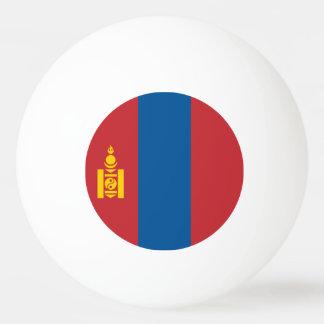 Mongolia Flag Ping Pong Ball