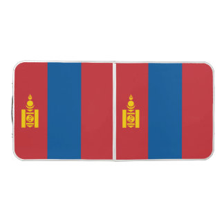 Mongolia Flag Pong Table