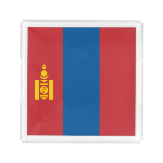 Mongolia Flag Serving Tray