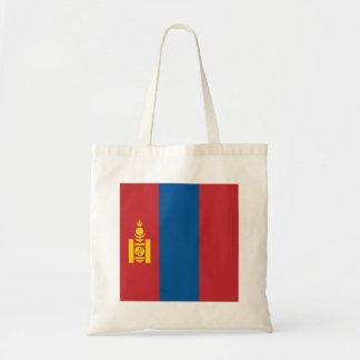 Mongolia Flag Tote Bag