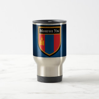 Mongolia Flag Travel Mug