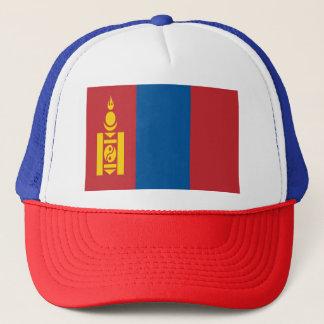 Mongolia Flag Trucker Hat