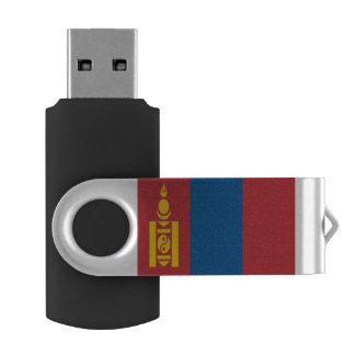 Mongolia Flag USB Flash Drive
