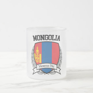 Mongolia Frosted Glass Coffee Mug
