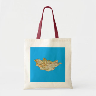 Mongolia Map Bag