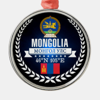 Mongolia Metal Ornament