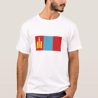 Mongolia National Flag T-Shirt