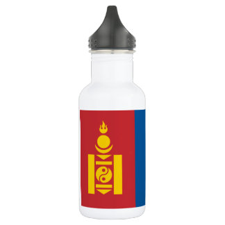 Mongolia National World Flag 532 Ml Water Bottle