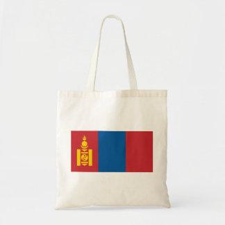 Mongolia National World Flag Tote Bag