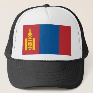 Mongolia National World Flag Trucker Hat