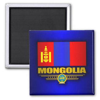 Mongolia Pride Square Magnet