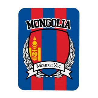 Mongolia Rectangular Photo Magnet