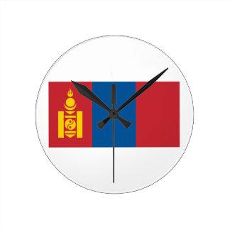 Mongolia Wallclock