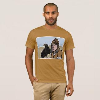 Mongolian Falconer American Apparel T-Shirt